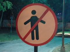 Proibido abraços