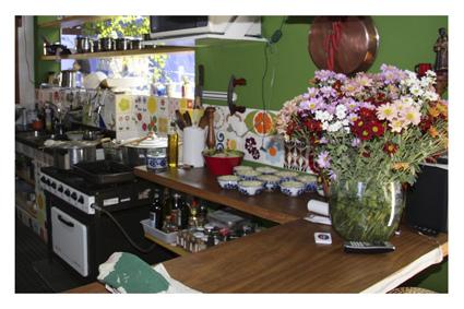 vista parcial da cozinha.