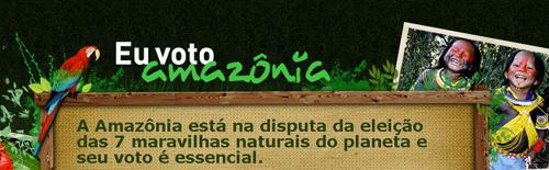 Eu voto amazônia