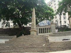 Figueira do Largo da Memória em S. Paulo