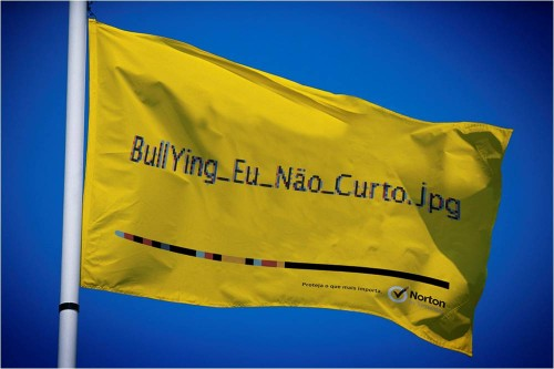 Bandeira contra bullying
