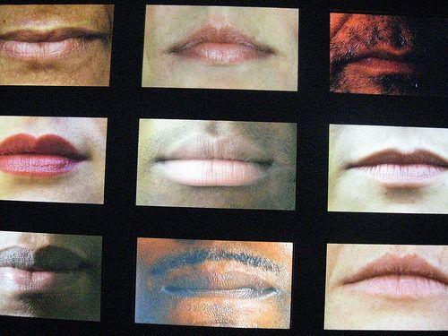 foto minha, no Museu da Língua Portuguesa