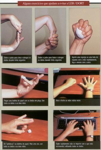 exercícios para evitar lesões repetitivas