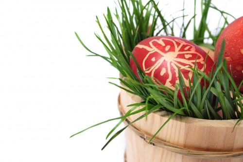 Red easter eggs, Photodune,