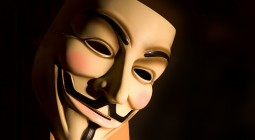 máscara de V de vingança