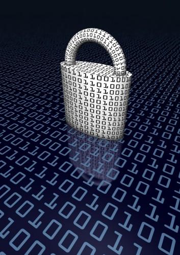 digital padlock - shutterstock