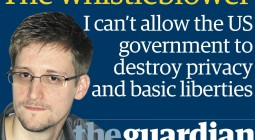 snowden_guardian: I can't allow the US government to destroy privacy and basic liberties.