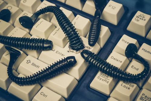 Worms atacam o teclado